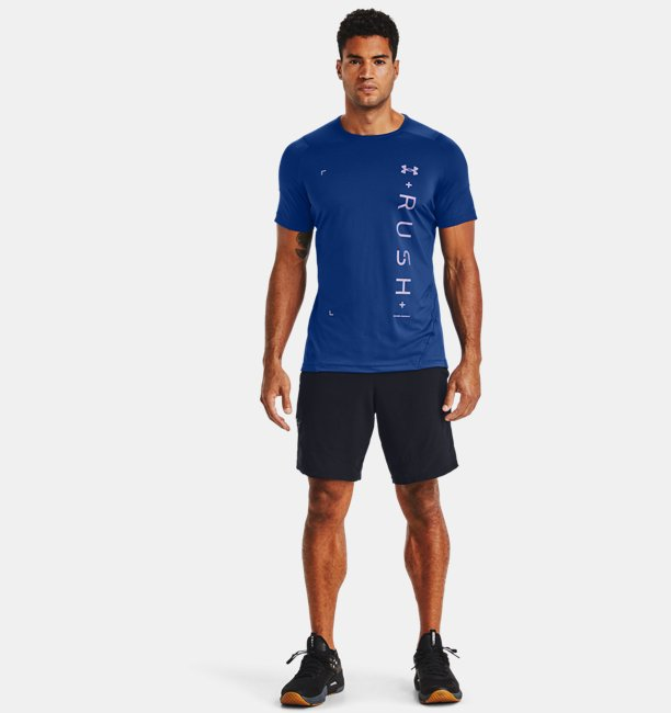 Mens UA RUSH™ HeatGear® 2.0 Graphic Short Sleeve