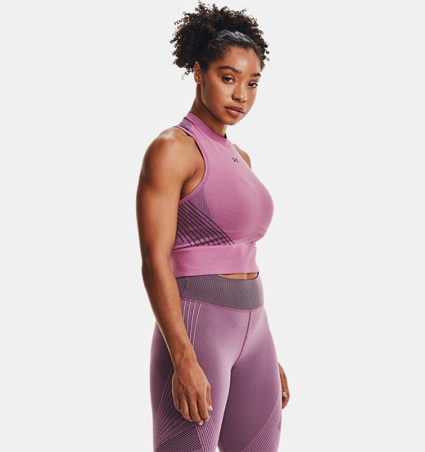 Womens UA RUSH™ Seamless Crop Top