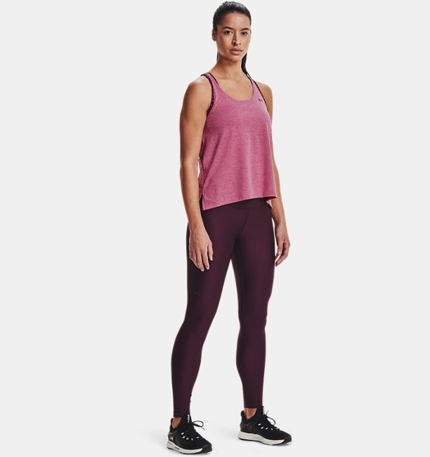 Womens UA Knockout Mesh Back Tank