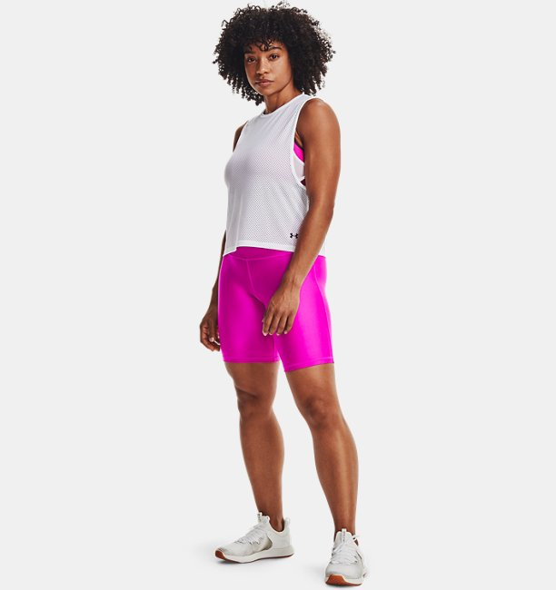 Womens HeatGear® Armour Muscle Mesh Tank