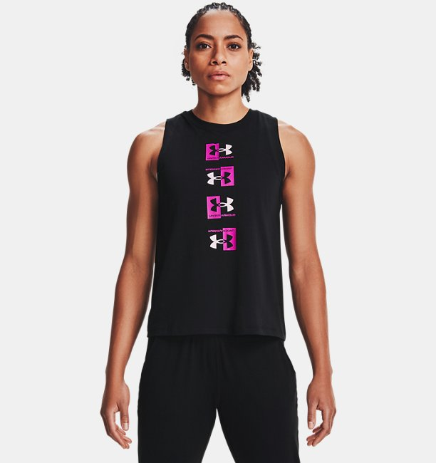 Womens UA Repeat Muscle Tank