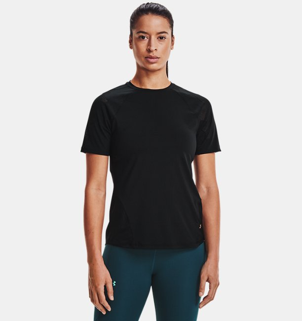 Womens UA RUSH™ Vent Short Sleeve
