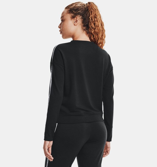 Womens UA Rival Terry Taped Crew