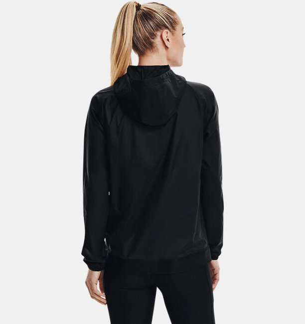 Womens UA Woven Reversible Full Zip