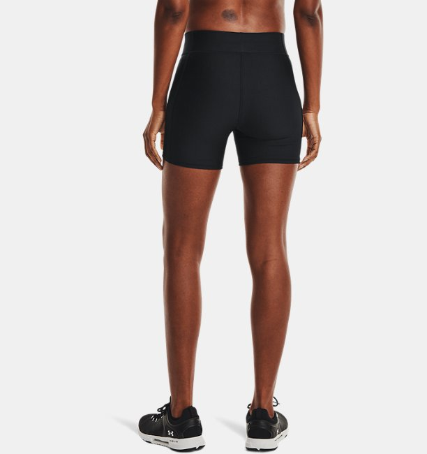 Womens HeatGear® Armour Mid-Rise Middy Shorts