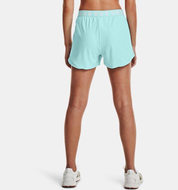 Womens UA Play Up 3.0 Emboss Shorts