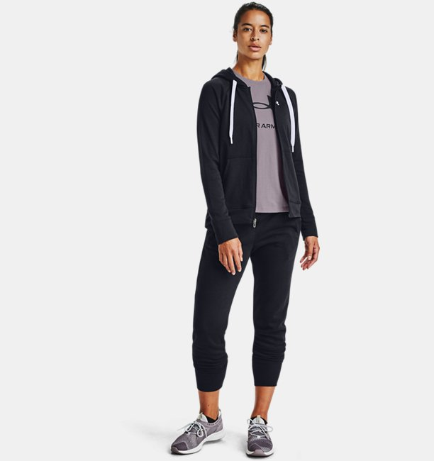 Womens UA Rival Terry Full Zip