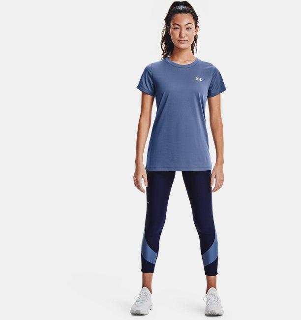 Womens HeatGear® Armour No-Slip Waistband Taped Ankle Leggings