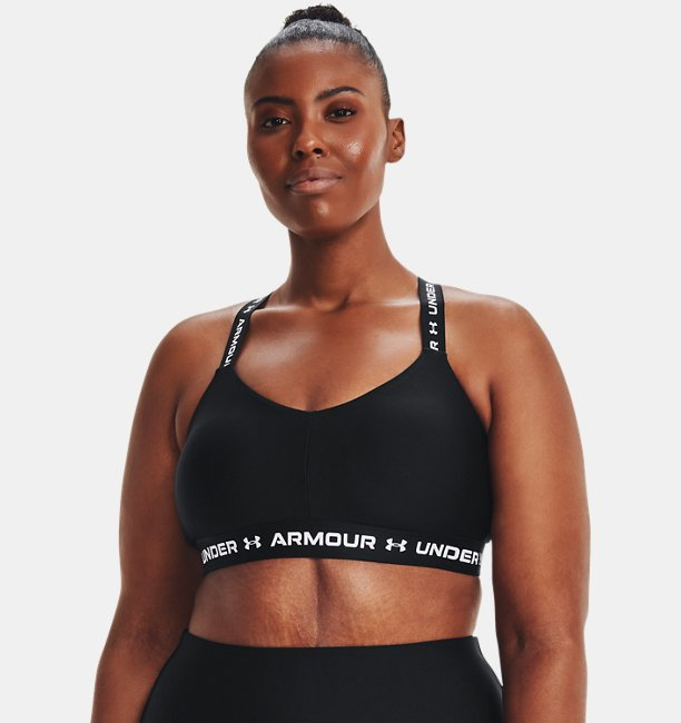 Womens UA Crossback Low Sports Bra