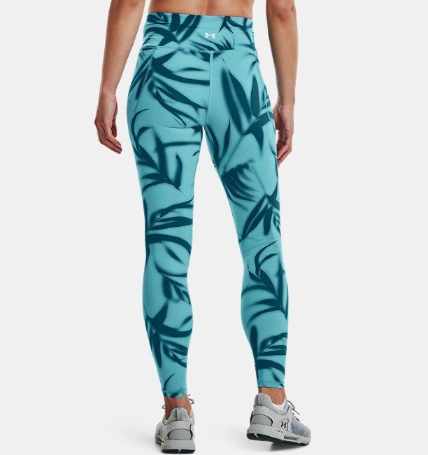 Womens UA Meridian Printed Full-Length Leggings