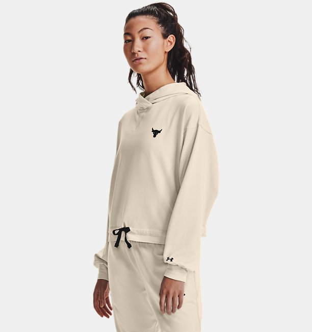 Womens Project Rock Terry Hoodie