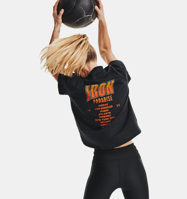 Womens Project Rock Bull Short Sleeve