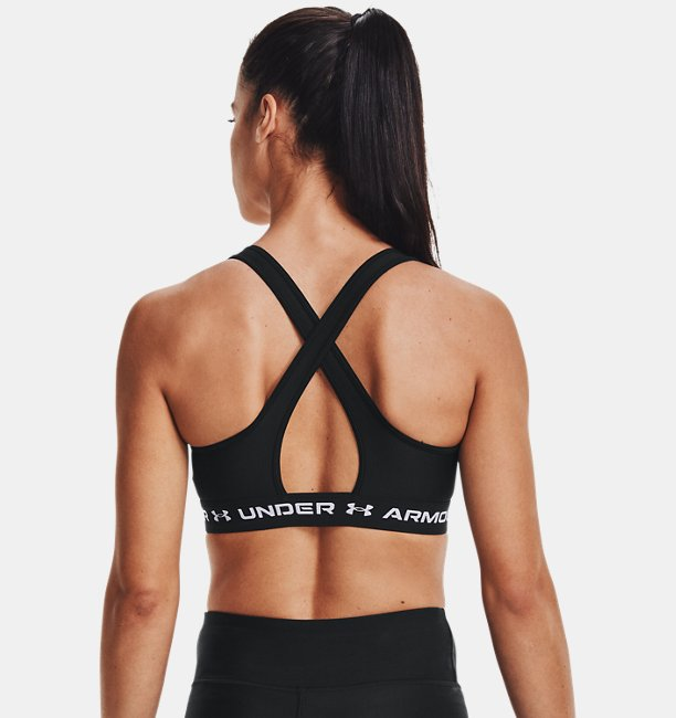 Womens Armour® Mid Crossback Pride Sports Bra
