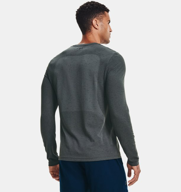 Mens UA Seamless Long Sleeve