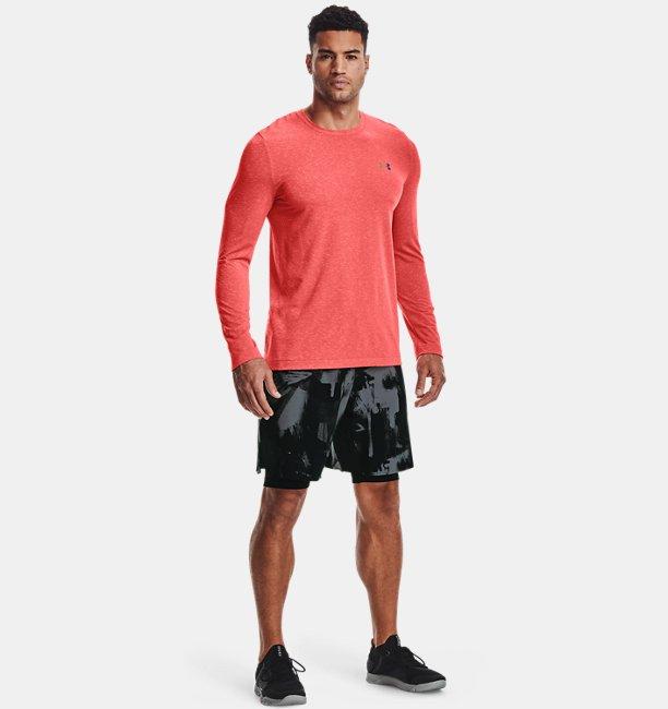 Mens UA RUSH™ Seamless Long Shorts