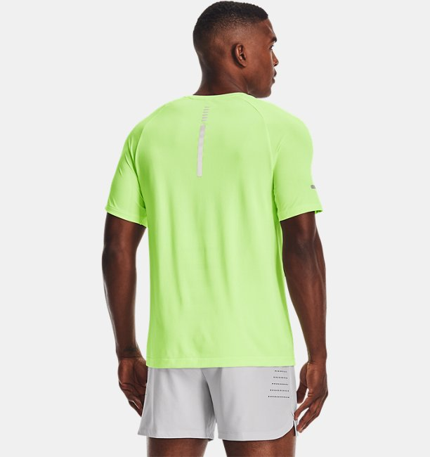 Mens UA Vanish Seamless Run Short Sleeve