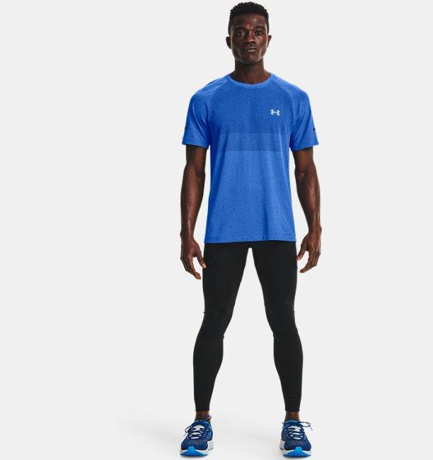 Mens UA Vanish Seamless Run Short Sleeve