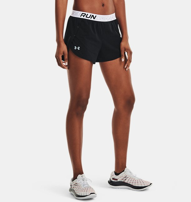 Womens UA Draft Run Shorts