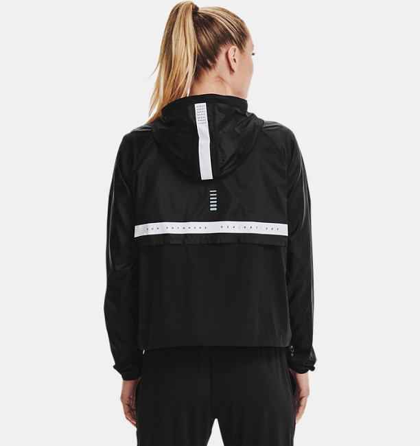 Damesjack UA Run Anywhere Anorak