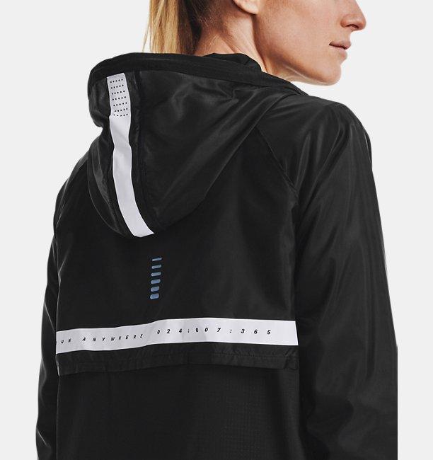 여성 UA 런 애니웨어 아노락 재킷