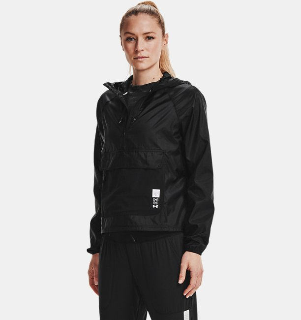 Womens UA Run Anywhere Anorak Jacket
