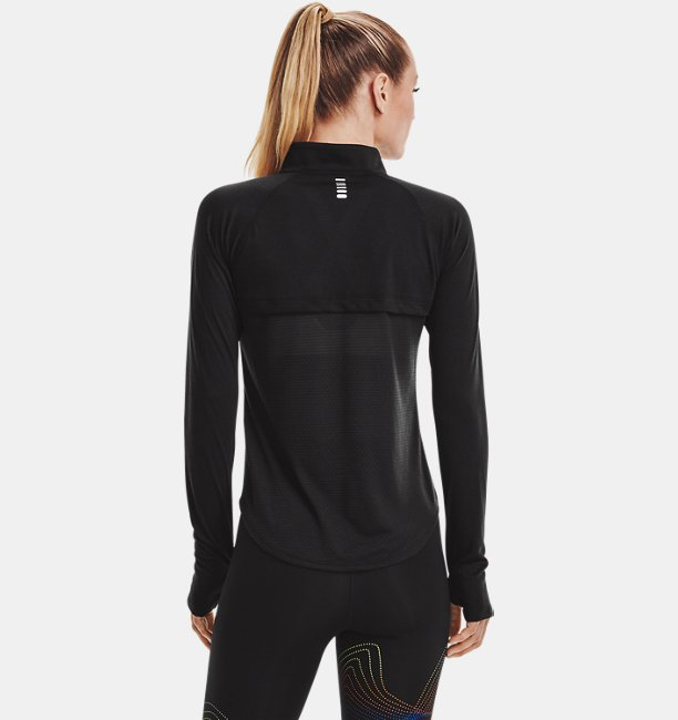 Womens UA Streaker Run ½ Zip