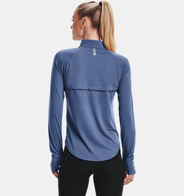 Kadın UA Streaker Run ½ Fermuarlı