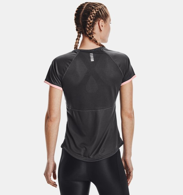 Womens UA Speed Stride Graphic Short Sleeve
