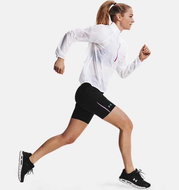 Womens UA RUSH™ Run Pocket Shorts