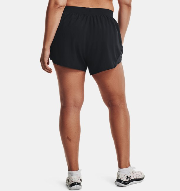 Womens UA Fly By 2.0 Shorts