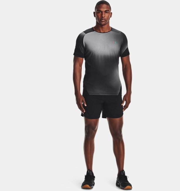 Mens UA RUSH™ HeatGear® 2.0 Print Short Sleeve