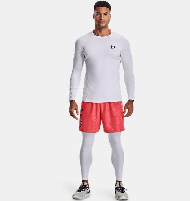 Mens UA Woven Emboss Shorts