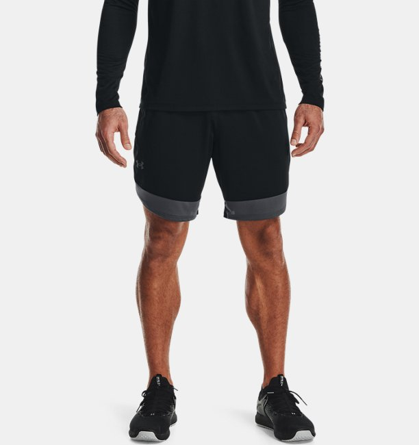 Mens UA Train Stretch Wordmark Shorts