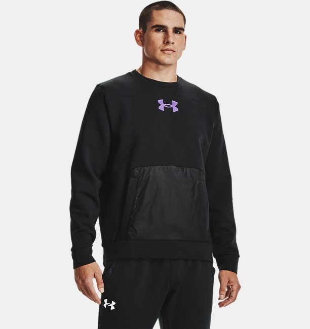 Mens UA Summit Knit Crew