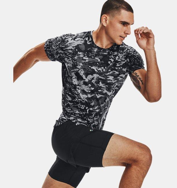 Mens UA Breeze Run Short Sleeve