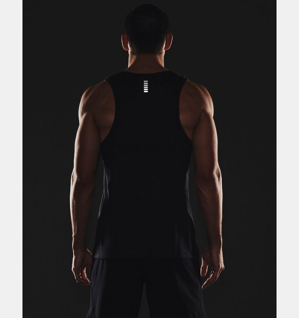 Mens UA Streaker Run Singlet