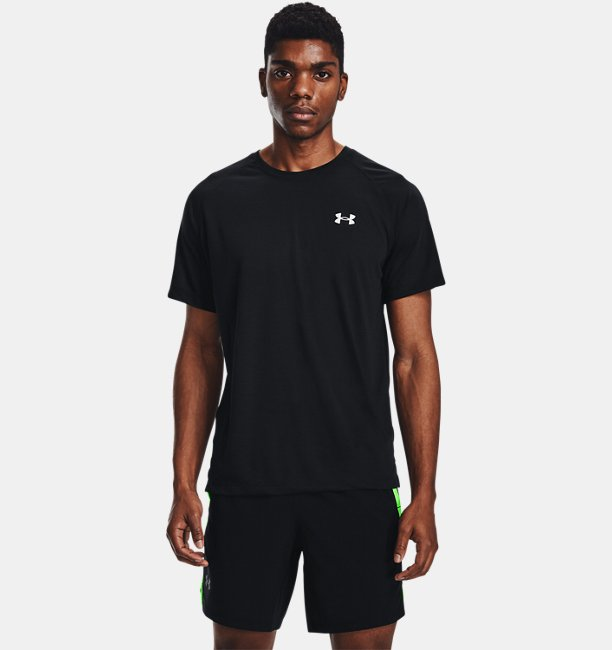 Mens UA Streaker Run Short Sleeve