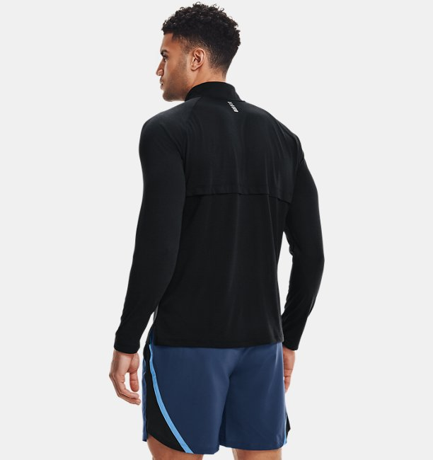 Mens UA Streaker Run ½ Zip