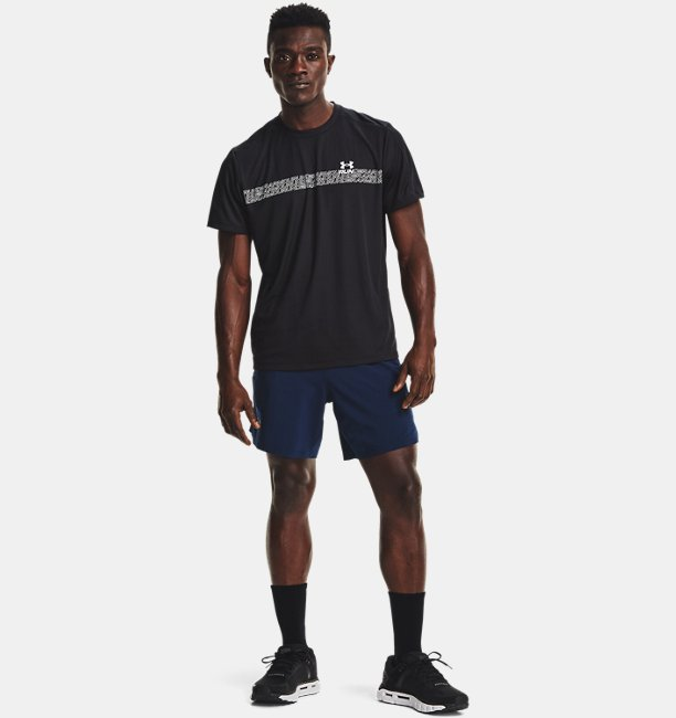 Mens UA Speed Stride Graphic Short Sleeve