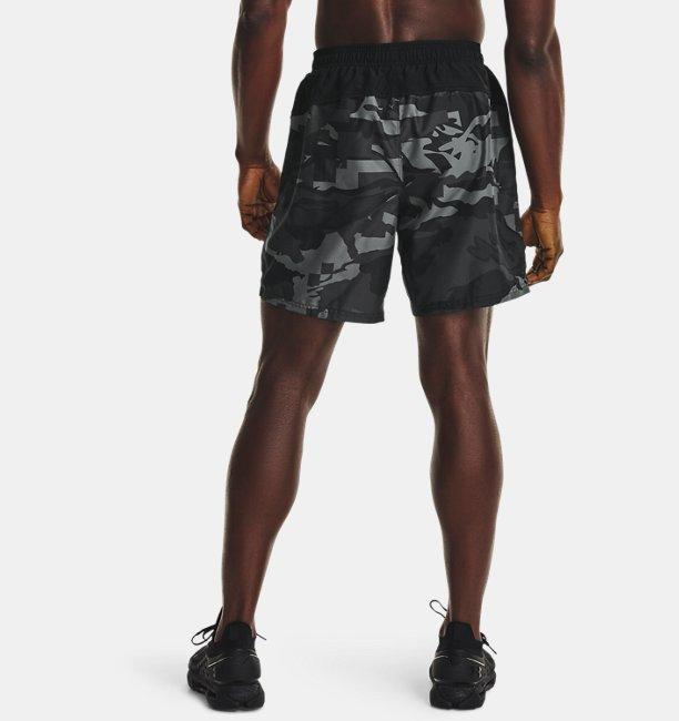 Mens UA Speed Stride Print Shorts