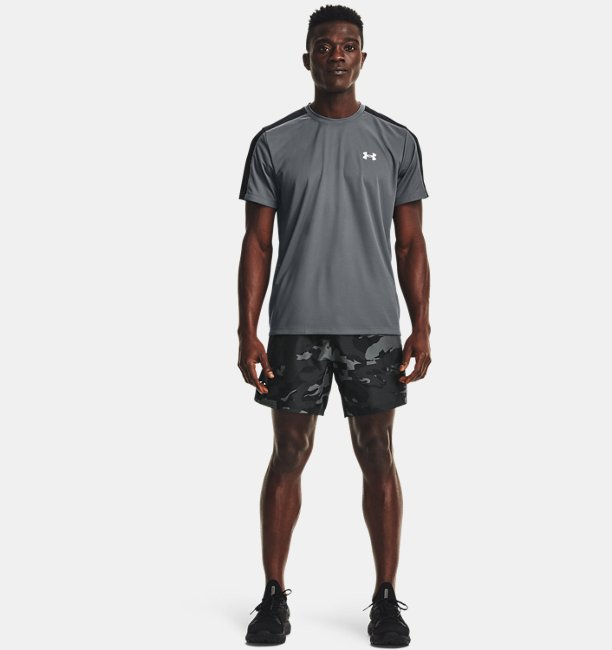 Mens UA Speed Stride Print Shorts