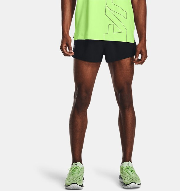 Mens UA Launch Run Split Shorts
