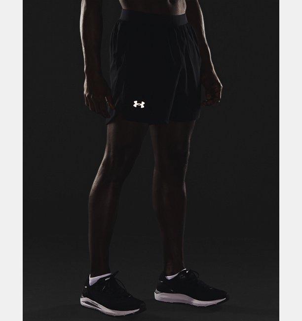 Mens UA Launch Run 5 Shorts