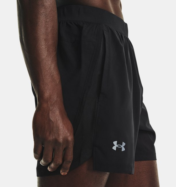 Mens UA Launch Run 5 Shorts