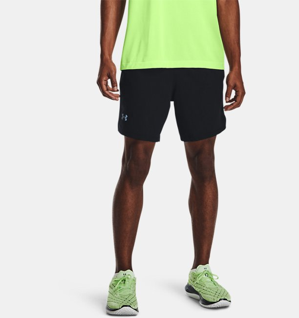 Herren UA Launch Run 2-in-1-Shorts
