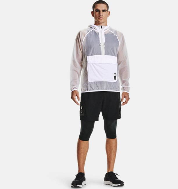 Mens UA Run Anywhere Anorak Jacket
