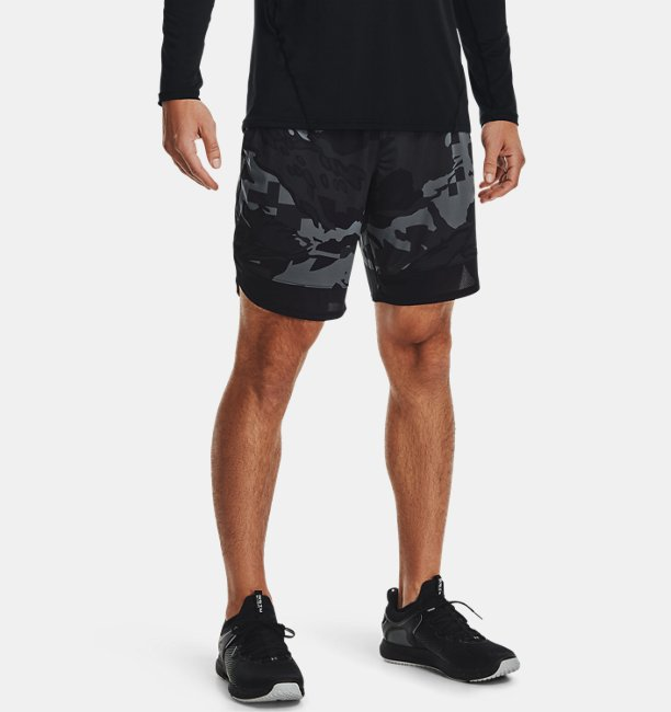 Herren UA Train Stretch Camo Shorts
