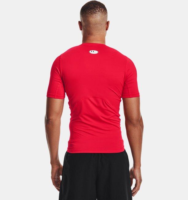 Mens HeatGear® Armour Short Sleeve