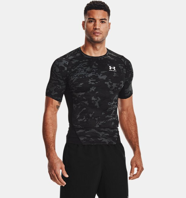 Mens HeatGear® Armour Camo Short Sleeve