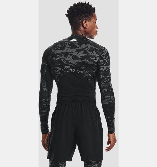 Mens HeatGear® Armour Camo Long Sleeve
